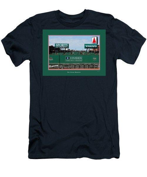The Green Monster Fenway Park Men's T-Shirt (Slim Fit) by Tom Prendergast
