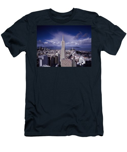 The Heart Of San Francisco Men's T-Shirt (Athletic Fit)