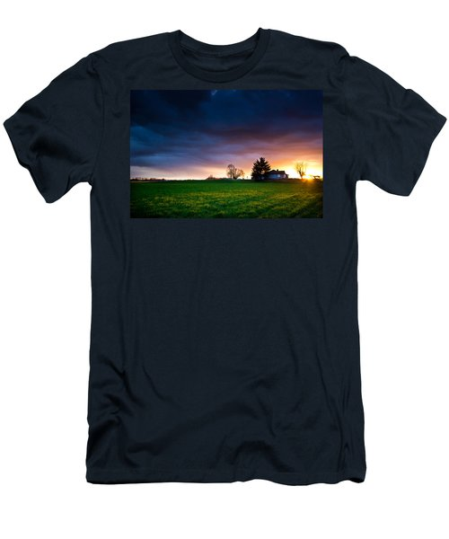 The House Of The Rising Sun Men's T-Shirt (Slim Fit) by Eti Reid
