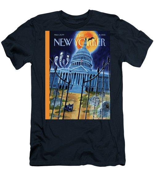 The House Republicans Haunt The Captiol Building Men's T-Shirt (Athletic Fit)