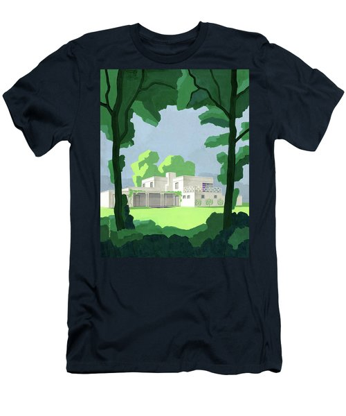 The Ideal House In House And Gardens Men's T-Shirt (Athletic Fit)