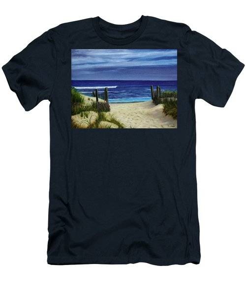The Jersey Shore Men's T-Shirt (Athletic Fit)