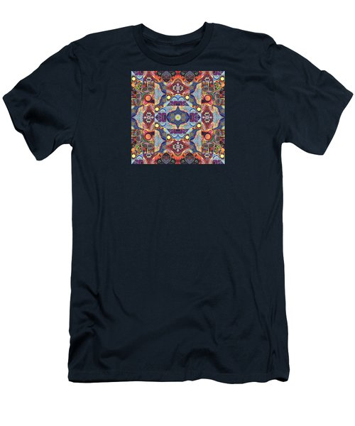 The Joy Of Design Mandala Series Puzzle 1 Arrangement 1 Men's T-Shirt (Athletic Fit)