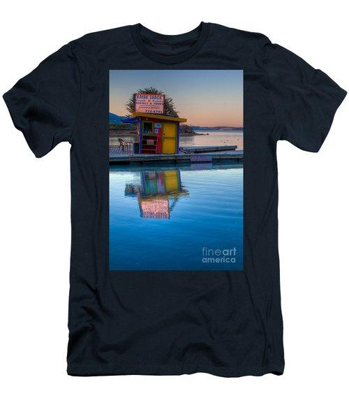 The Kayak Shack Morro Bay Men's T-Shirt (Slim Fit) by Terry Garvin