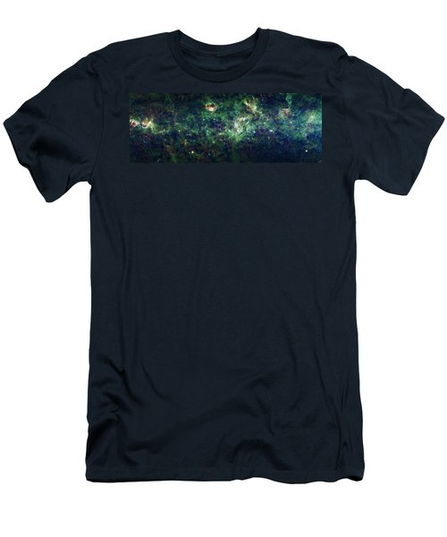 The Milky Way Men's T-Shirt (Slim Fit) by Adam Romanowicz