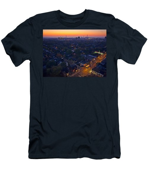 The Morning Bus Men's T-Shirt (Slim Fit) by Keith Armstrong