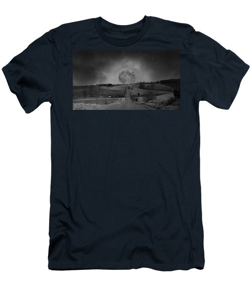 The Night Begins Men's T-Shirt (Athletic Fit)