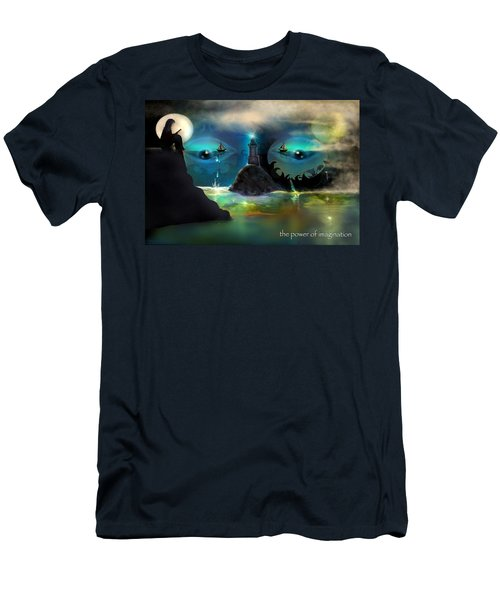 The Power Of Imagination Men's T-Shirt (Athletic Fit)