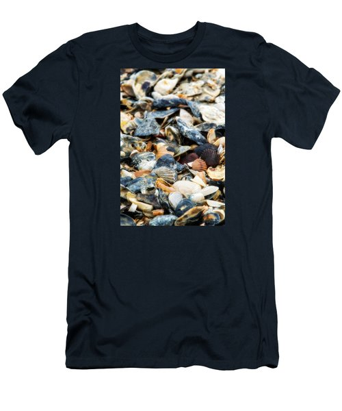 Men's T-Shirt (Slim Fit) featuring the photograph The Raw Bar by Joan Davis