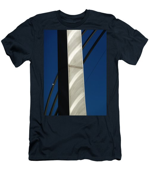 The Sail Sculpture  Men's T-Shirt (Athletic Fit)