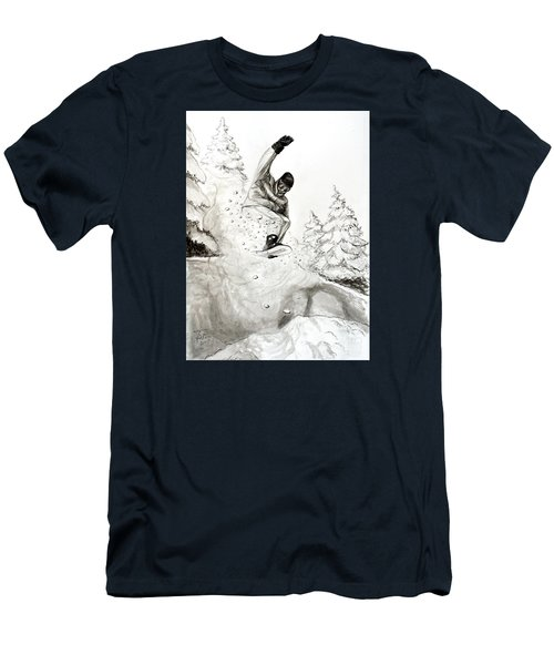 The Snowboarder Men's T-Shirt (Athletic Fit)