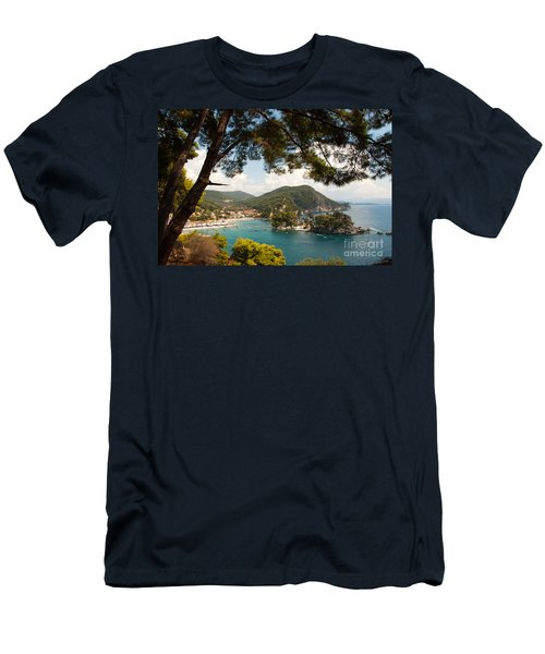 The Town Of Parga - 2 Men's T-Shirt (Athletic Fit)