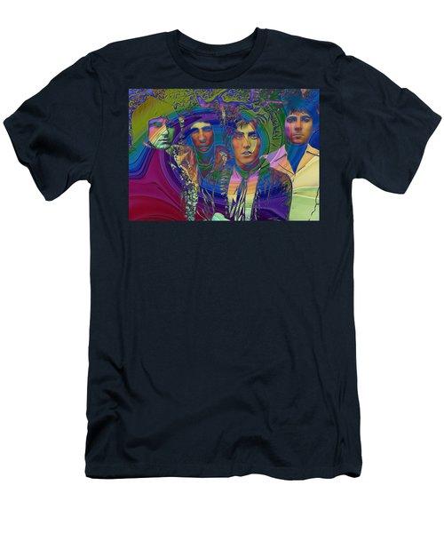 The Who Color Warp Men's T-Shirt (Athletic Fit)