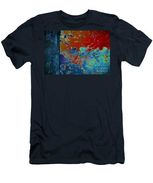 The Writing Is On The Wall Men's T-Shirt (Athletic Fit)