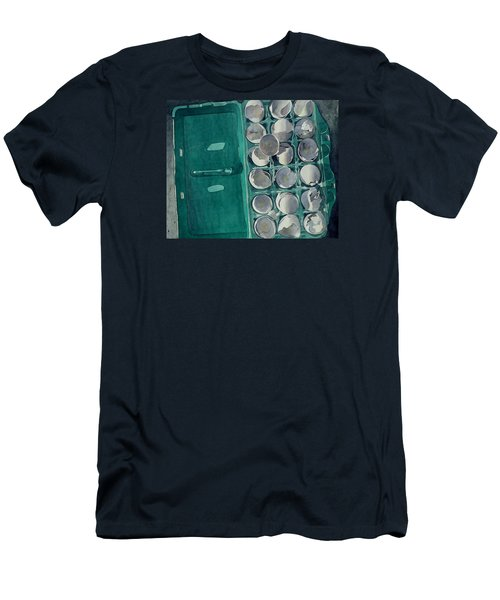 Men's T-Shirt (Slim Fit) featuring the painting They Asked Me For Omelettes by Jeffrey S Perrine
