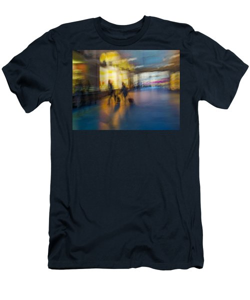 Men's T-Shirt (Slim Fit) featuring the photograph This Is How We Roll by Alex Lapidus