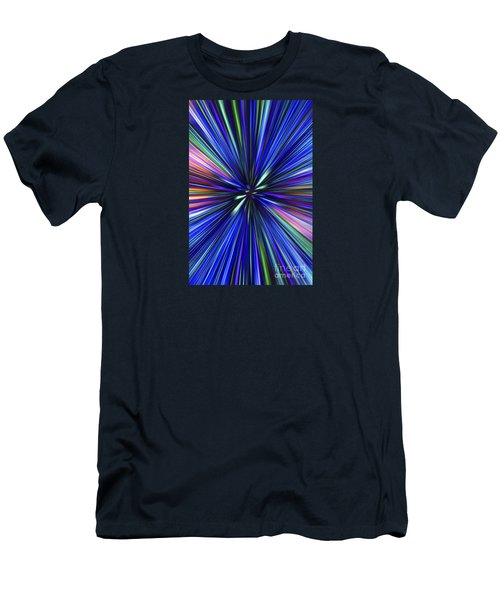 Through The Wormhole.. Men's T-Shirt (Slim Fit) by Nina Stavlund