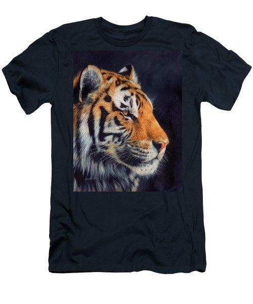 Tiger Profile Men's T-Shirt (Athletic Fit)