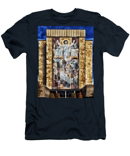 Touchdown Jesus Men's T-Shirt (Athletic Fit)