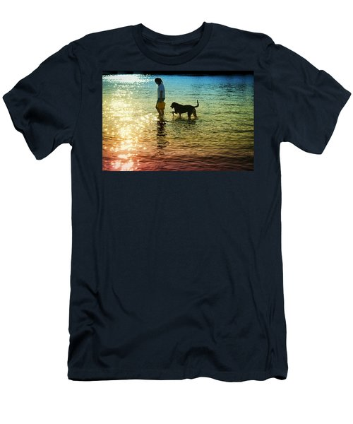 Tripping The Light Fantastic Men's T-Shirt (Slim Fit) by Laura Fasulo