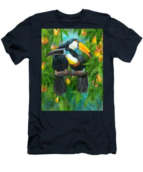 Tropic Spirits - Toucans Men's T-Shirt (Athletic Fit)
