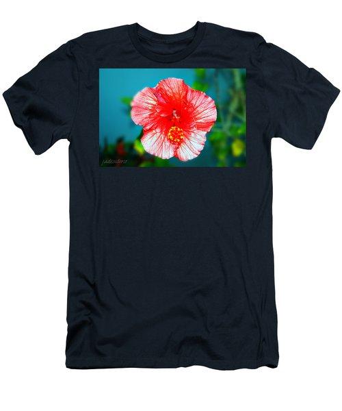 Tropical Burst Redux Men's T-Shirt (Athletic Fit)