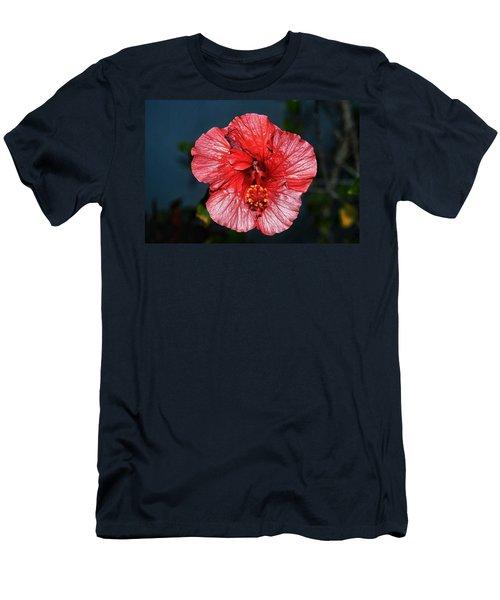 Tropical Burst Subdued Men's T-Shirt (Athletic Fit)