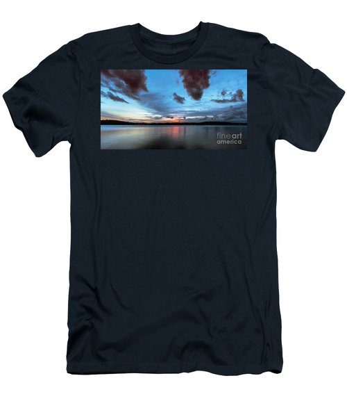 Twilight On Lake Lanier Men's T-Shirt (Athletic Fit)