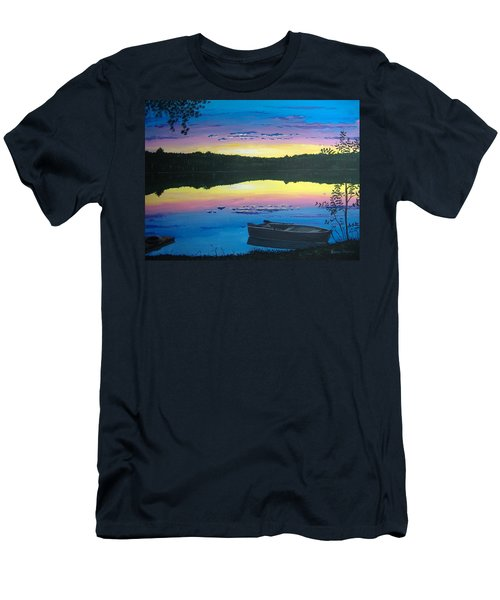 Twilight Quiet Time Men's T-Shirt (Athletic Fit)