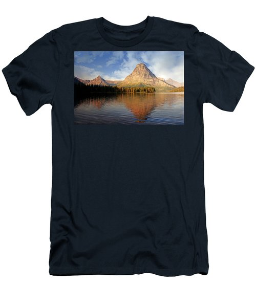 Men's T-Shirt (Slim Fit) featuring the photograph Two Medicine by Marty Koch