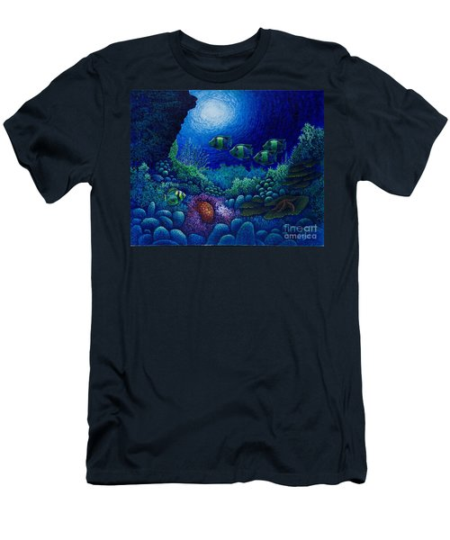 Undersea Creatures Iv Men's T-Shirt (Athletic Fit)