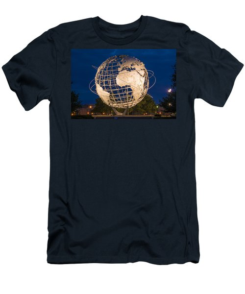 Unisphere Nights Men's T-Shirt (Athletic Fit)