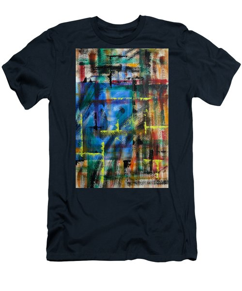 Blue Wall Men's T-Shirt (Athletic Fit)