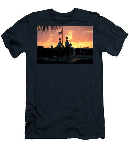 University Of Tampa Minerets At Sunset Men's T-Shirt (Athletic Fit)