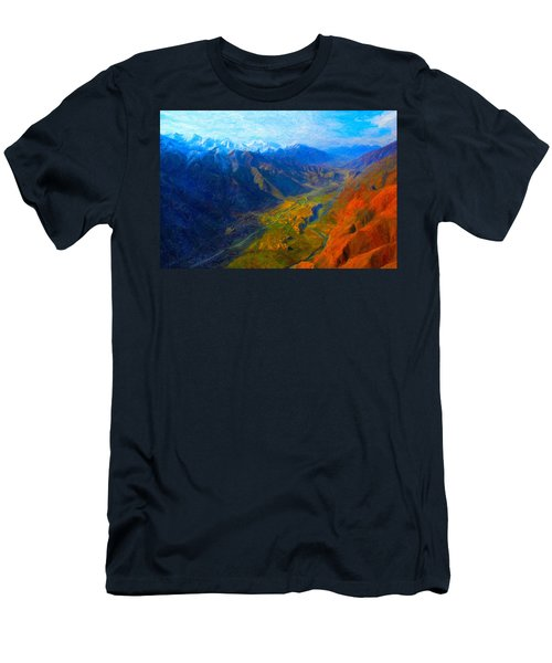 Valley Shadows Men's T-Shirt (Athletic Fit)