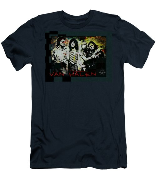 Van Halen - Ain't Talkin' 'bout Love Men's T-Shirt (Slim Fit) by Absinthe Art By Michelle LeAnn Scott