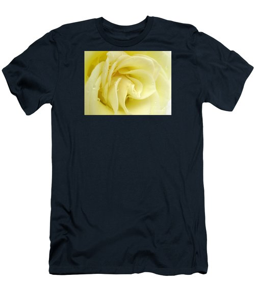 Vanilla Swirl Men's T-Shirt (Slim Fit) by Patti Whitten