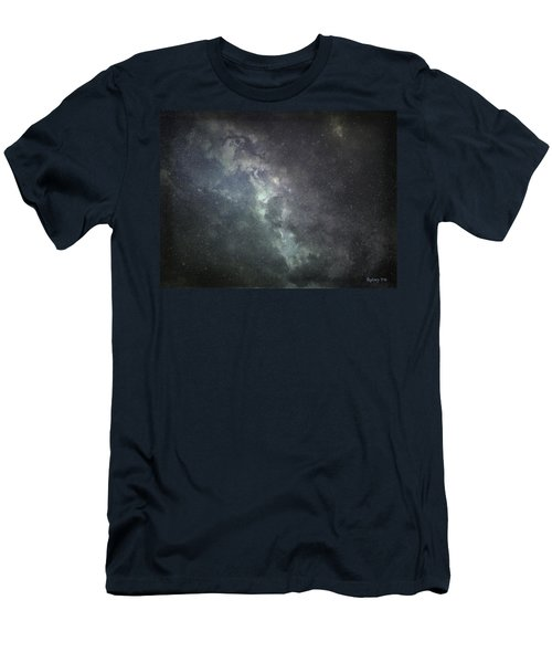Men's T-Shirt (Slim Fit) featuring the photograph Vast Universe by Cynthia Lassiter
