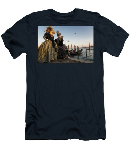 Venice Carnival '15 IIi Men's T-Shirt (Athletic Fit)