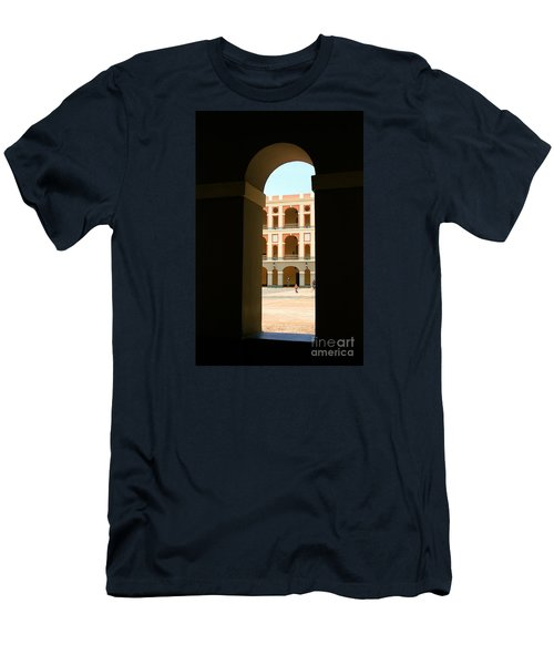 Ventana De Arco Men's T-Shirt (Slim Fit) by The Art of Alice Terrill