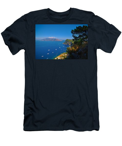 View From Capri Men's T-Shirt (Athletic Fit)