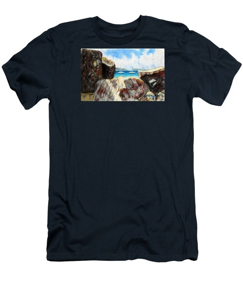 View Of Devil's Bay Men's T-Shirt (Athletic Fit)