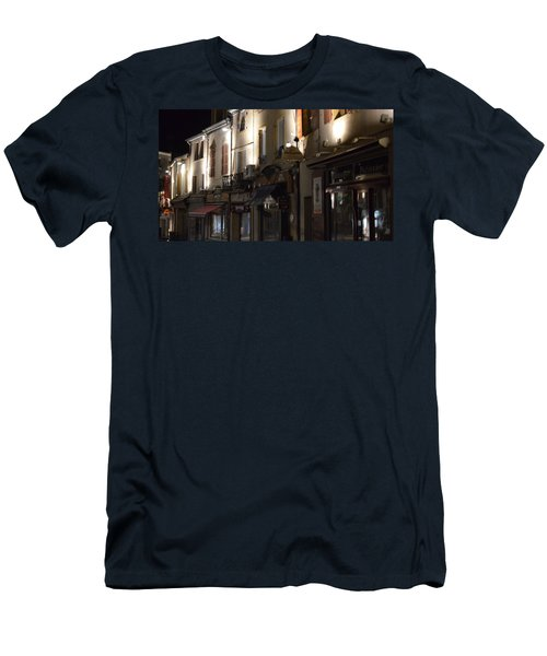 Village Nightscape Men's T-Shirt (Athletic Fit)