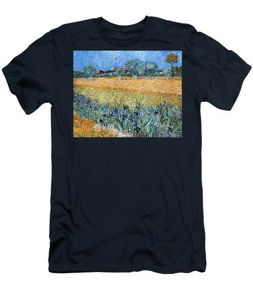 Field With Flowers Near Arles Men's T-Shirt (Athletic Fit)