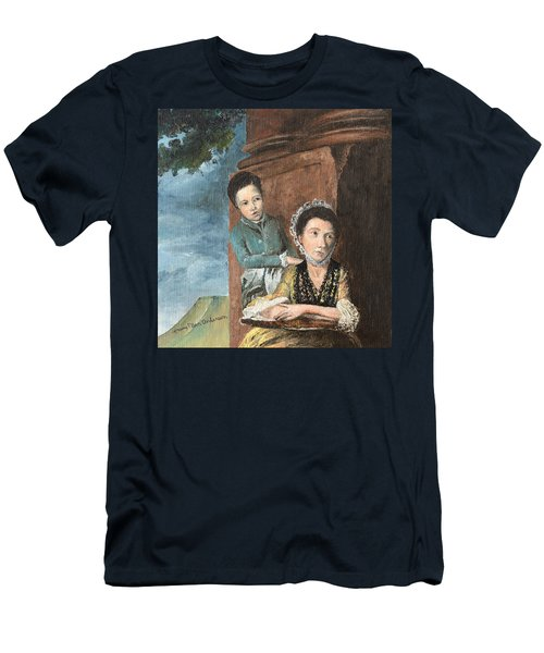 Vintage Mother And Son Men's T-Shirt (Athletic Fit)