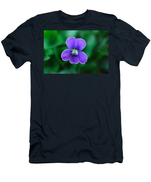 Violet Splendor Men's T-Shirt (Athletic Fit)