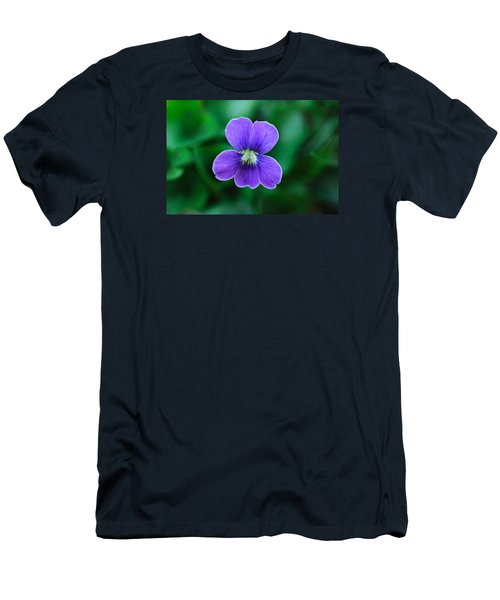Violet Splendor Men's T-Shirt (Athletic Fit)