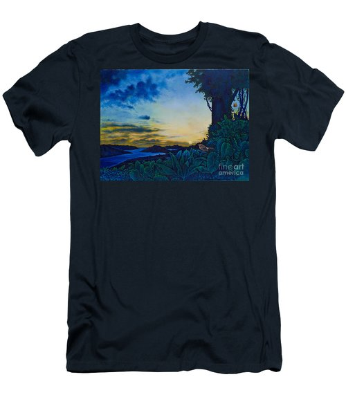 Visions Of Paradise II Men's T-Shirt (Athletic Fit)