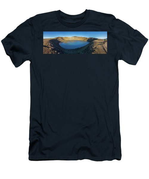 Viti, A Huge Explosion Crater, Northern Men's T-Shirt (Athletic Fit)