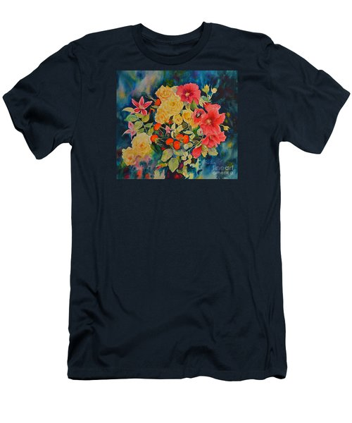Men's T-Shirt (Slim Fit) featuring the painting Vogue by Beatrice Cloake